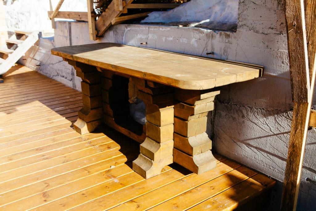 Столы из массива дерева
