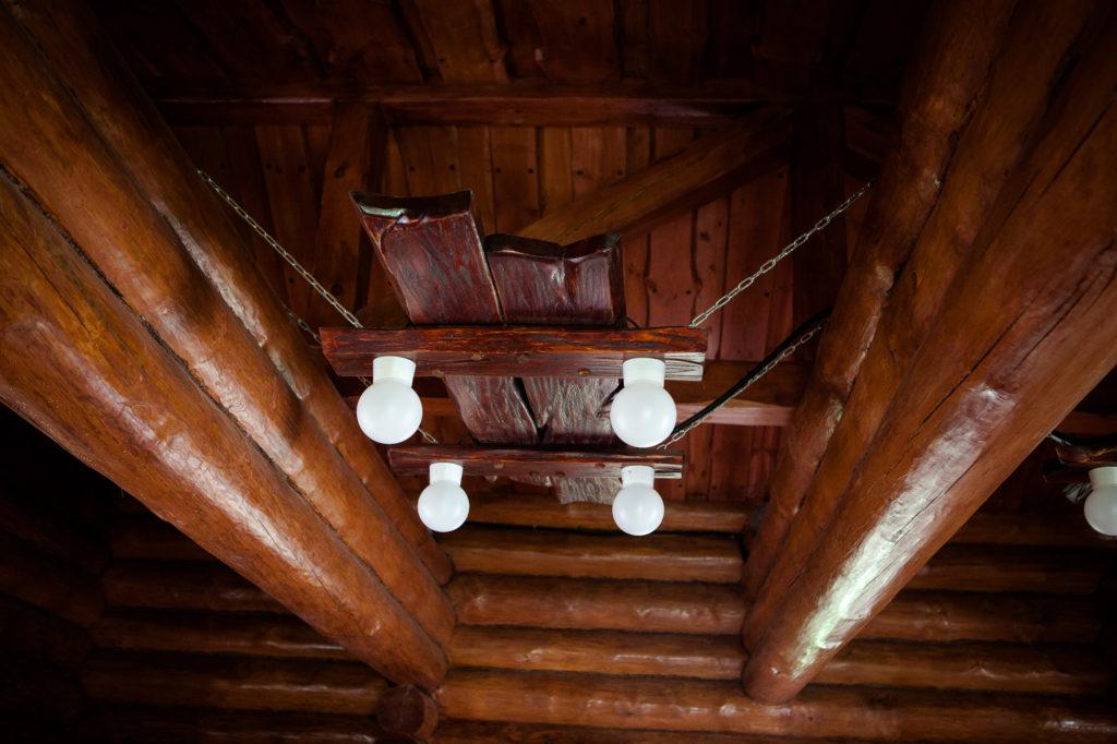 Комплекс построек из рубленного бревна «Поместье»